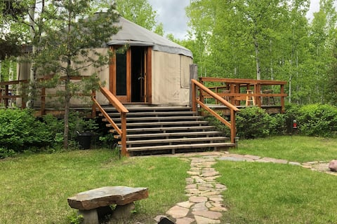 Yurt Kind of Place