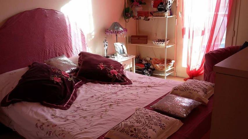Chambre chaleureuse au centre ville de Quimper - Quimper - Lägenhet