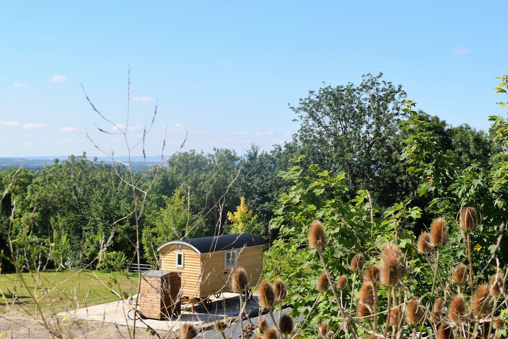 On its own 2-acre site the Hut has sensational views