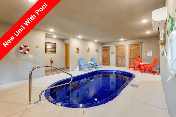 Wet and Wild, newly constructed with superior amenities that include an indoor heated salt water pool,
