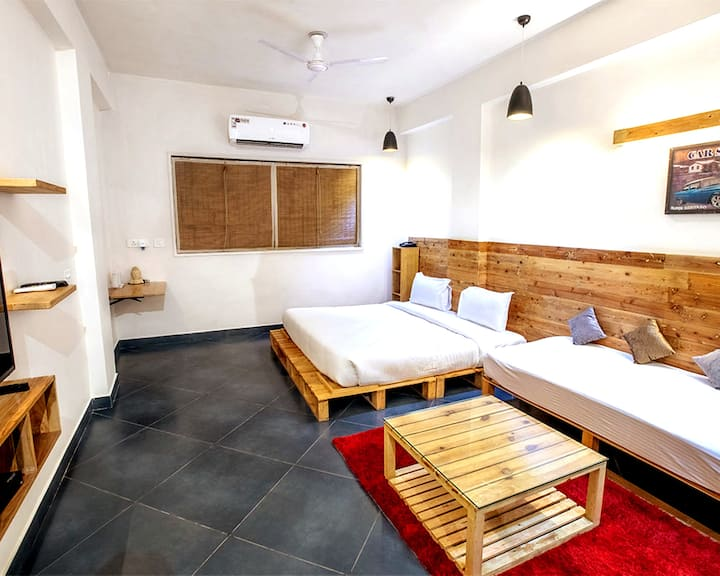 Long Stay inLuxury Apartment Near Airport /Gurgaon