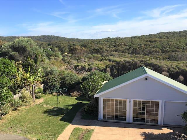 The Backyard backs onto the National Park