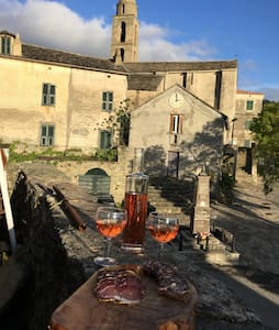 chambres dans maison de village - Santa Lucia Di Mercurio  - Дом