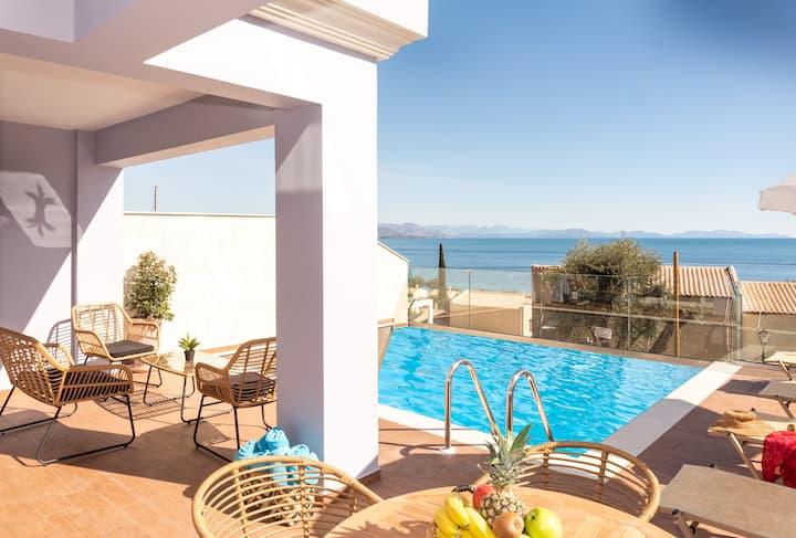 Corfu Sea View Villa Leo