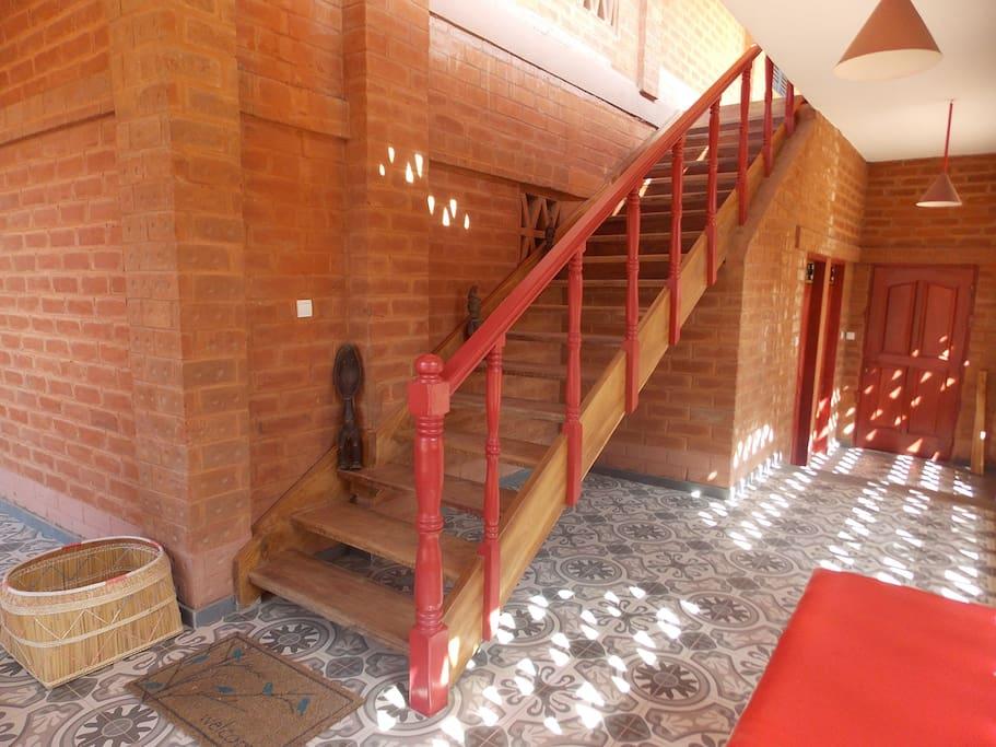la maison rouge for rent in aneho maritime togo. Black Bedroom Furniture Sets. Home Design Ideas