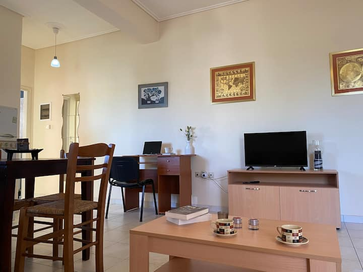 Fully equiped apartment, 5mins from the seaside