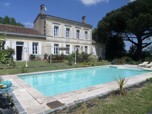 Charming sunny suite in the heart of the vineyards - Pugnac - House
