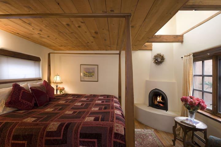 The Chamisa Suite in the Hacienda Nicholas - Alexander's Inn - Hacienda Nicholas - The Madeleine