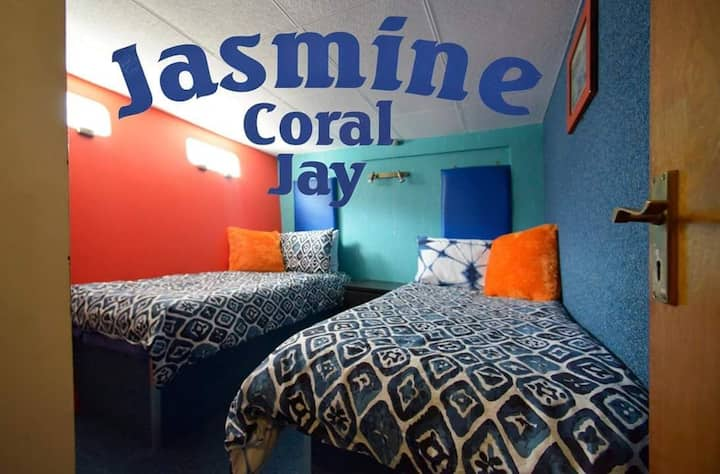 boutique twin room on THE JASMINE CORAL JAY