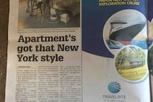 Feature Real Estate Article in local paper