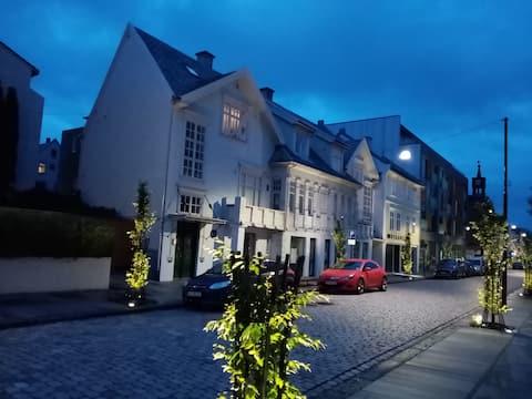 Lys og fin toppleilighet i sentrum av Haugesund.