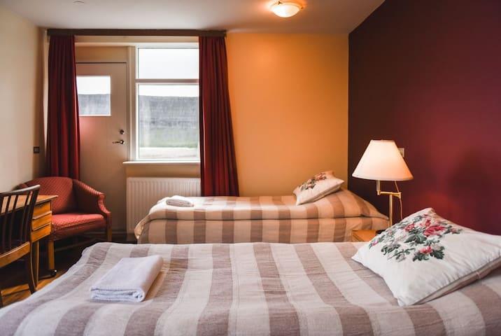 Cool Triple Room at *Hotel Latrabjarg*