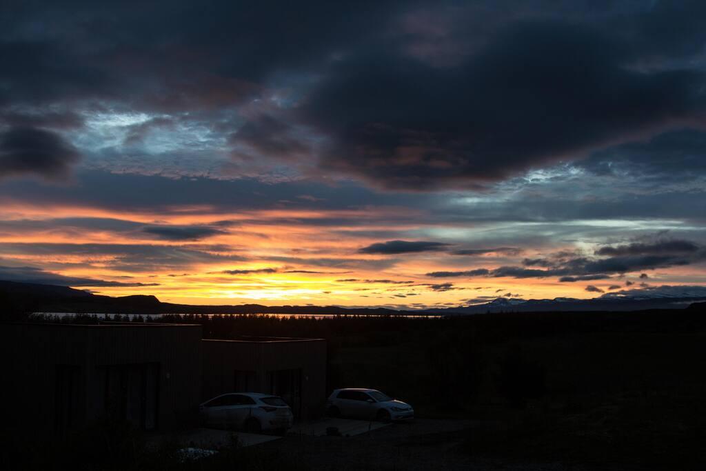 Beautiful sunrise 03:00 15th of July