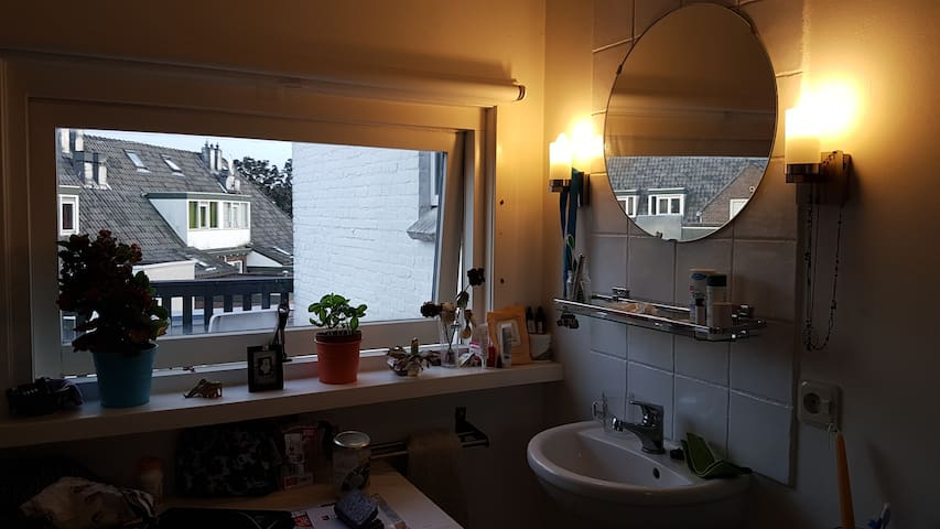 Cozy private double room with balcony - Delft - House