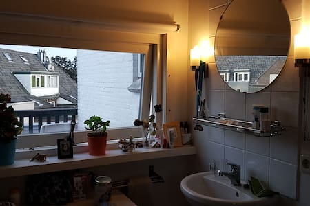 Cozy private double room with balcony - Delft