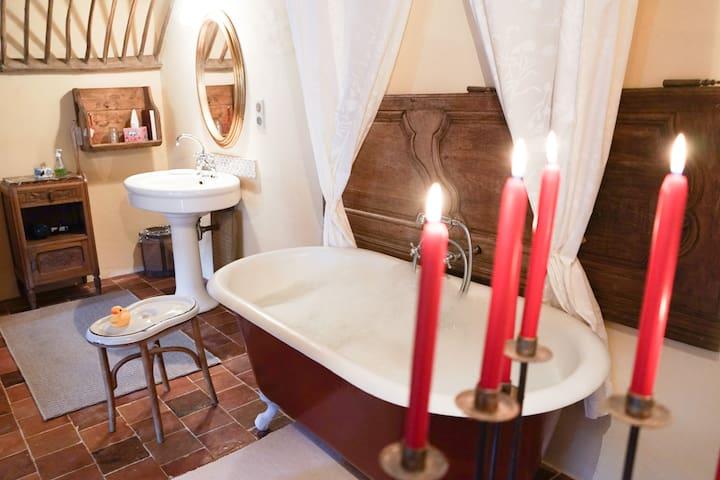 Magnifique chambre dans une écurie - Ballon - Bed & Breakfast