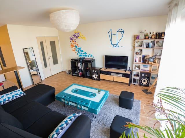 Appartement T2 55 m2 - Ile de Nantes - Nantes