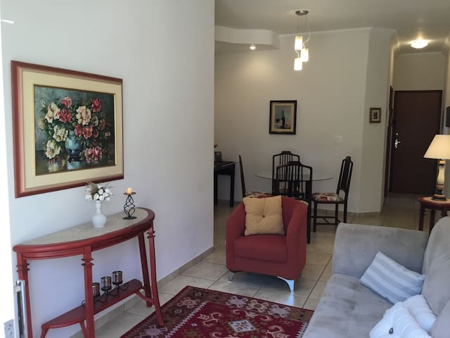 Beautiful apartment in prime area of ​​Ribeirão