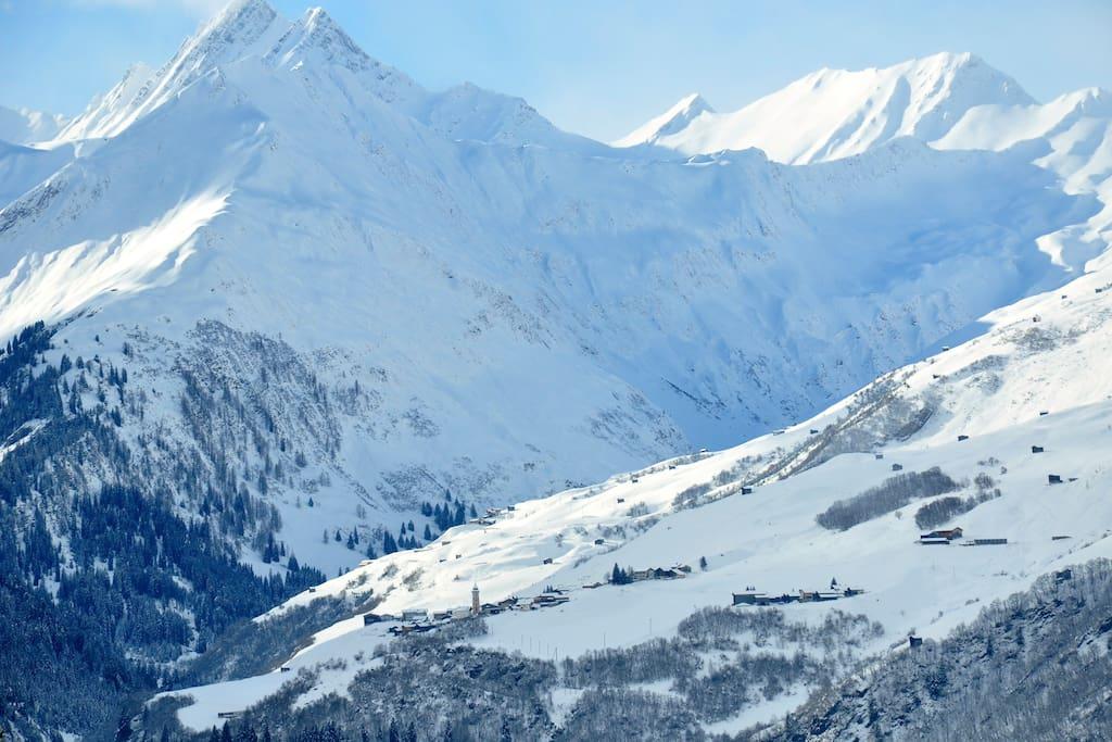Winter impression - Val Lumnezia