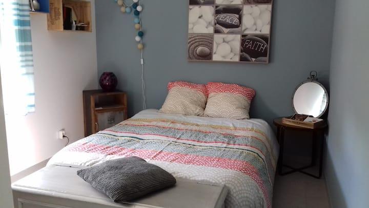 La chambre bleue de Surimeau