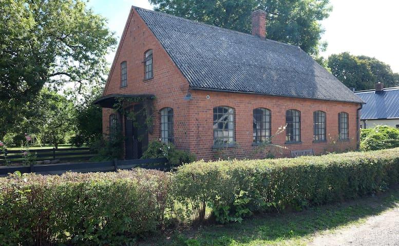 Old foundry in a charming village, Österlen