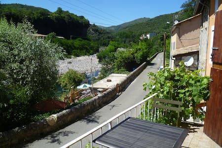 Maison de village en bordure d'ardèche - Pont-de-Labeaume
