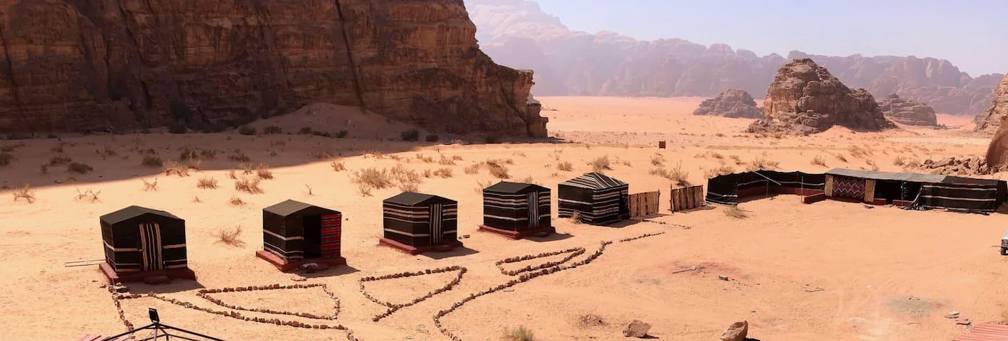 Camp in Wadi Rum, Um Al Tawaqi, simple & authentic