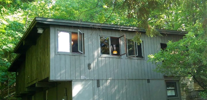 Private Secluded apartment in the woods