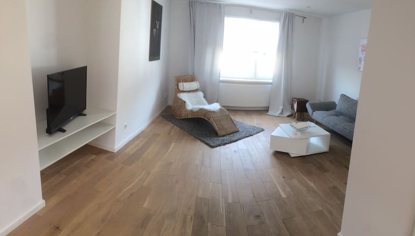 Near Frankfurt lovely flat with garden - Neu-Isenburg - Condominium