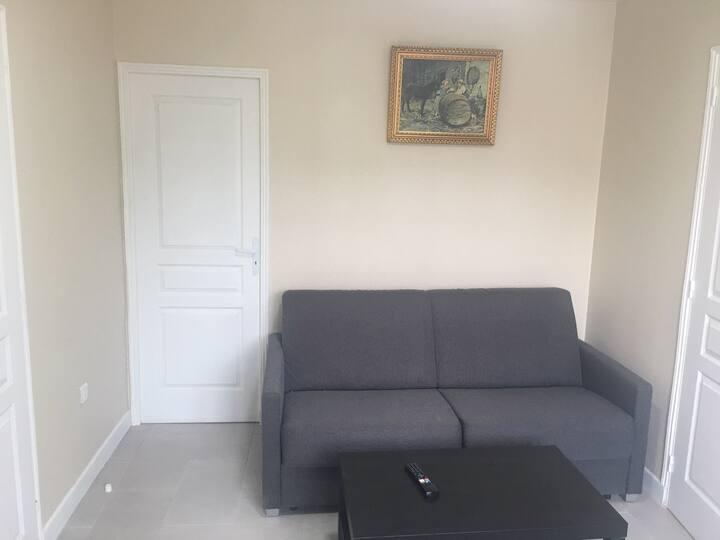 Appartement Mimosa 35 m2 à 200 m du bois de Sucy