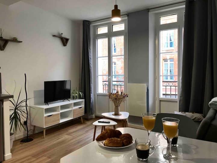 Appartement * Le Musoir * avec balcon vue mer 2