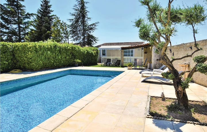 Beautiful home in Robion with WiFi and 1 Bedrooms