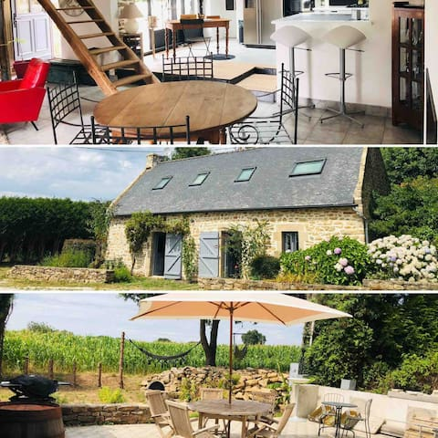 Chambres d'hôtes au calme -Golfe du Morbihan