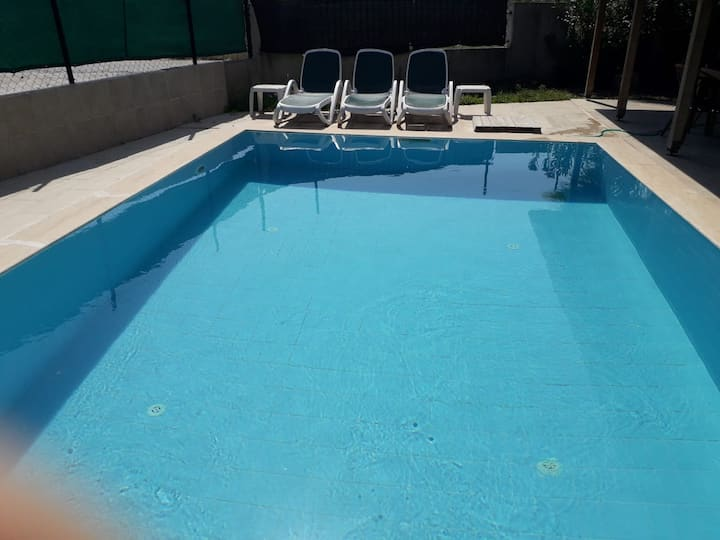Private villa with a swimming pool for  big family