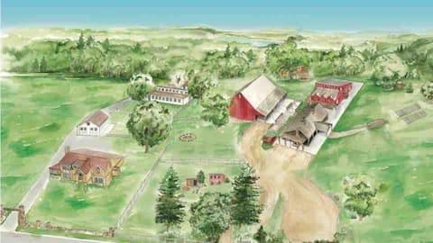 Hope Glen Farm Corn Crib Villa