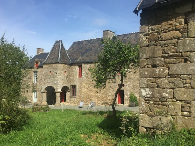 Magical 15th century Manor near Mont Saint Michel
