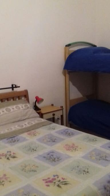 Room A, 20 square meters with 4 places bed