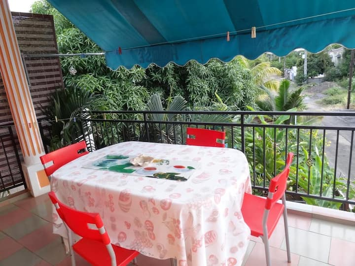 House with one bedroom in Flic en Flac, with shared pool and WiFi