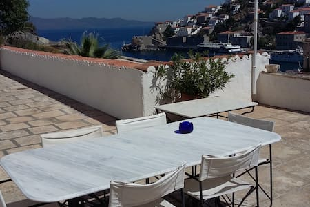 Captain's House,port view,wifi,for4 - Hydra - Leilighet