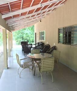 Casa em Itacaiu-GO, próxima ao Rio Araguaia.