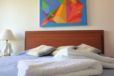 Double Room near the beach in Parede, Cascais - Parede