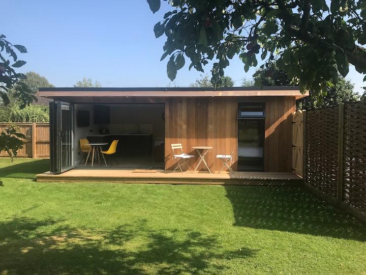 Garden Room set in a rural location.