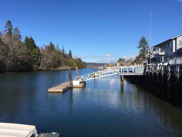 Beautiful Waterfront Home with private dock!