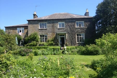 Trafford House Farm , old farm house - Chipping Warden - Casa