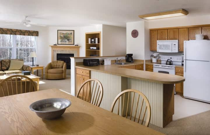 Wyndham Smugglers Notch - 2 Bedroom Deluxe