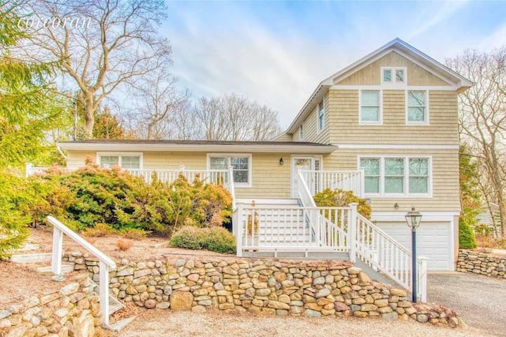 Nassau Point Home With New Pool and Deeded Beach!