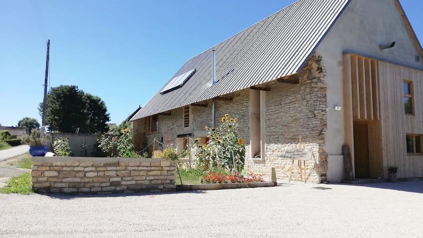 Element Terre - Côté Jardin BnB accessible à tous - Baudrières - ที่พักพร้อมอาหารเช้า