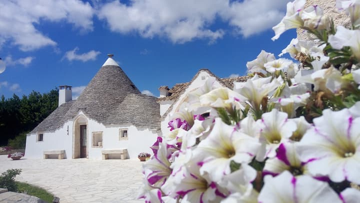 Trullo Tulipano with pool | B&B Fascino Antico