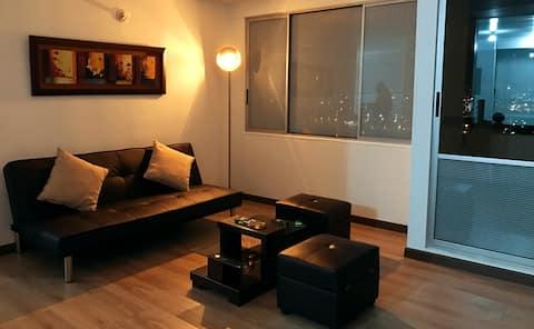 Cozy, comfy and modern flat! WIFI - GYM - SAUNA 2