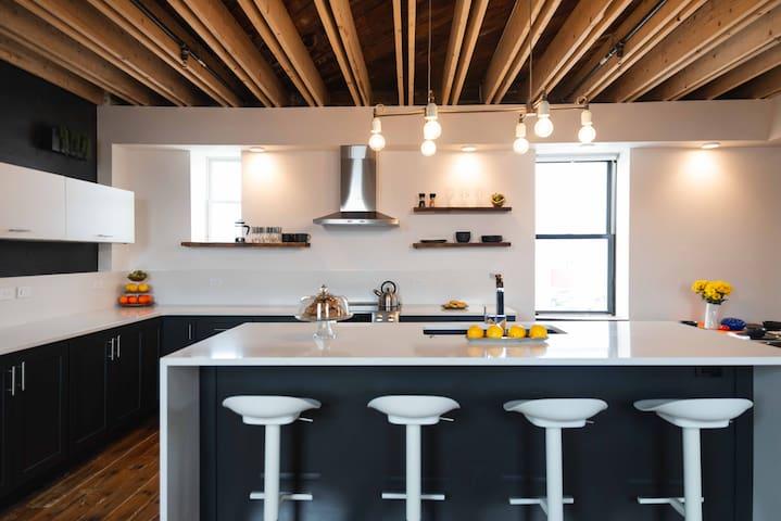 Lux penthouse condo on the Bricks